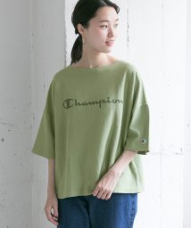 URBAN RESEARCH/Champion REVERSE WEAVE BOATNECK T-SHIRTS/501451904