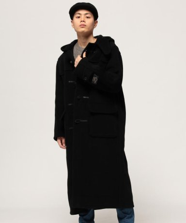 Duffle Coat 11-19-1102-247: Black