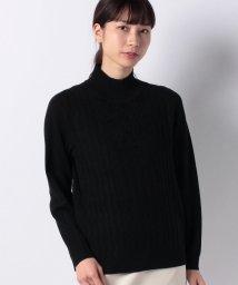 Leilian/ポップコーン編みケーブルセ-タ-/501400303