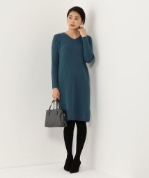 THE STATION STORE UNITED ARROWS LTD./<closet story>□リブ フィットワンピース/501413558
