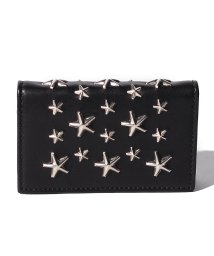 JIMMY CHOO/【JIMMYCHOO】レディース カードケース LEATHER WITH STARS/501435608