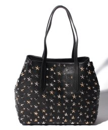 JIMMY CHOO/【JIMMYCHOO】レディース トートバッグ LEATHER W MULTI METAL STARS/501435610