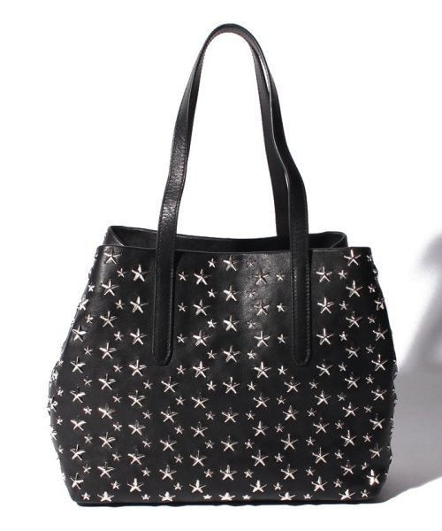 【JIMMYCHOO】レディース トートバッグ LEATER WITH STARS