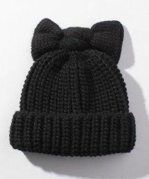 en recre/【Moronero】リボンモチーフニット帽/501441741