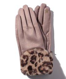 en recre/【CASSELINI】スマホ対応フェイクファー切替手袋/501441759