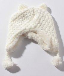 petit main/アニマル裏ボアニット帽/501441996