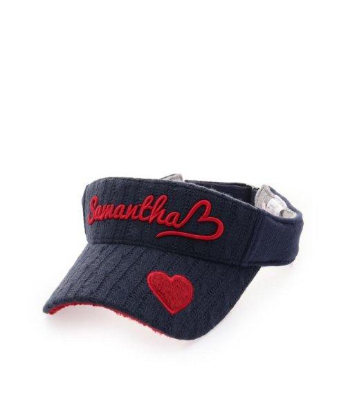 Samantha Thavasa UNDER25&NO.7(サマンサタバサアンダー)/ケーブル編みバイザー/00771825100001
