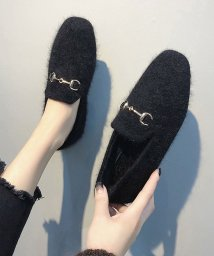 miniministore/ファーパンプス レディース シューズ 秋冬 韓国 靴 走れるパンプス 人気 フラットパンプス 即納/501454144