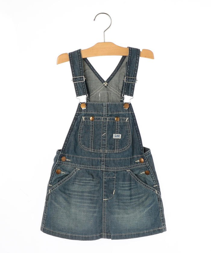 dcf4b476785ee シップス キッズ Lee オーバーオールスカート(100~150cm) レディース ネイビー 110  SHIPS
