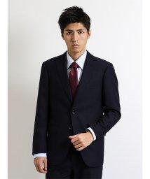 m.f.editorial/コーディネート2パンツスーツ ホームスパン無地紺 A体レギュラーフィット/501454970