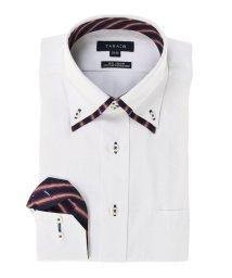 TAKA-Q/形態安定レギュラーフィット2枚衿ドゥエボットーニボタンダウン長袖ビジネスドレスシャツ/501455161