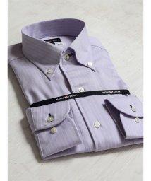 TAKA-Q/綿100%100双形態安定レギュラーフィットワンピースボタンダウン長袖ビジネスドレスシャツ/501455167