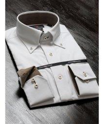 TAKA-Q/CORDURA(コーデュラ)形態安定スリムフィットボタンダウン長袖ビジネスドレスシャツ/501455191