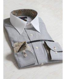 TAKA-Q/CORDURA(コーデュラ)形態安定レギュラーフィットレギュラーカラークレリック長袖ビジネスドレスシャツ/501455194