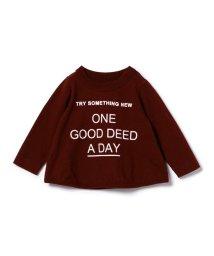 こどもビームス/ARCH&LINE / TRY スラブ素材 ロゴプリント Tシャツ (ボーイズ ガールズ 70~90cm)/501455980