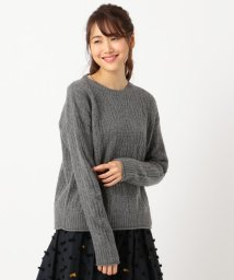 KUMIKYOKU/ウールカシミヤレーシー ニット/501456526