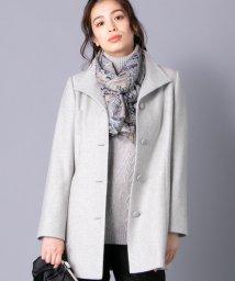 Leilian/カシミヤブレンドコ-ト/501400304