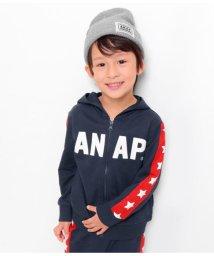 ANAP KIDS/袖切り替えパーカー/501442939