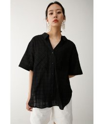 moussy/DOBBY CHECK LOOSE シャツ/501453722