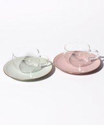 Afternoon Tea LIVING/耐熱ガラスカップ&ソーサーぺアセット  2019年版/501436804