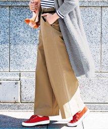 GeeRa/秀逸シルエットのすっきりワイドパンツ/501379108