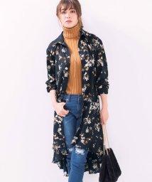 ryuryu/花柄シャツワンピ              /501379127