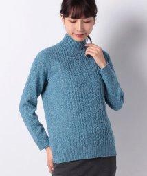 Leilian PLUS HOUSE/カシミヤセーター/501400403