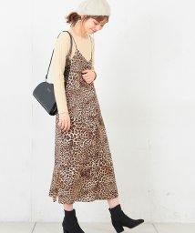 NICE CLAUP OUTLET/【natural couture】ちび釦付きシンプルキャミワンピ/501446721