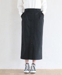 coen/【別注】 Dickies(ディッキーズ)ボタンダウンストレッチロングタイトスカート/501457967