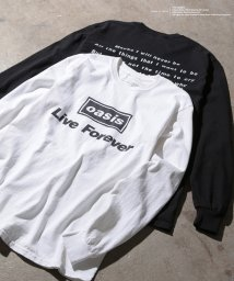 ADAM ET ROPE'/【oasis for ADAM ET ROPE'】SONG LYRICS T-shirt(長袖)/501177585