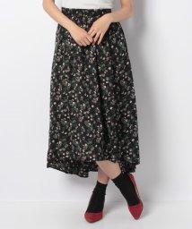 GeeRa/フィッシュテールデザイン花柄スカート    /501377675