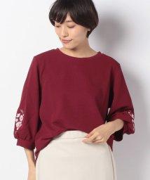 GeeRa/袖刺しゅうボリューム袖トップス       /501377713