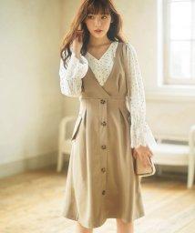 GeeRa/トレンチ風デザインジャンパースカート    /501377831