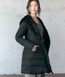 GeeRa/エコファービッグカラー中わたコート     /501377864