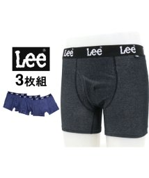 MARUKAWA/【Lee】 ボクサーパンツ 3枚組 セット デニム調素材/501440445