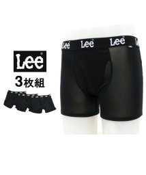 MARUKAWA/【Lee】 ボクサーパンツ 3枚組 セット ストレッチポリエステル素材/501440446