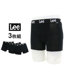 MARUKAWA/【Lee】リー ボクサーパンツ 3枚組 セット ストレッチ天竺素材/501440447