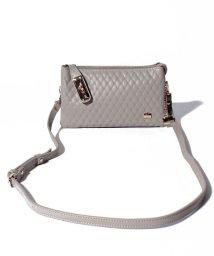 LA BAGAGERIE/キルティング型押しお財布ポシェット/501446294