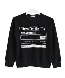 RAT EFFECT/裏シャギーデザインロゴトレーナー/501448355