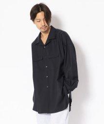GARDEN/Toironier/トワロニエ/OPEN COLLAR LOOSE SHIRTS/オープンカラールーズシャツ/501452187