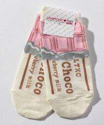 Lovetoxic/板チョコスニーカーインソックス/501454374