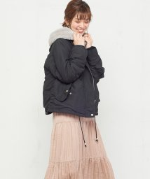 NICE CLAUP OUTLET/【natural couture】ショートモッズコート/501456108