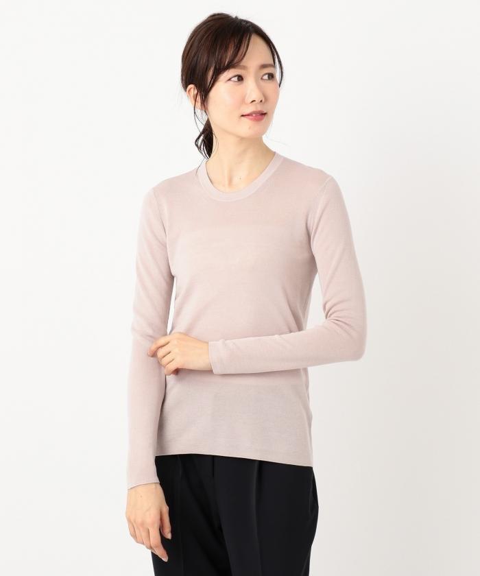 【洗える】Tencel Wool ニット