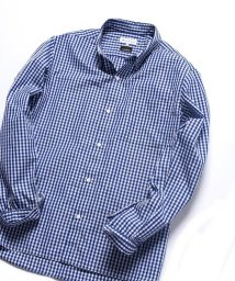 SHIPS JET BLUE/SHIPS JET BLUE: outlast チェックストライプ レギュラーカラーシャツ2/501462133
