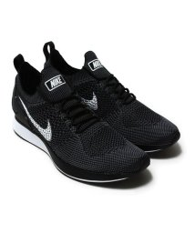 NIKE/NIKE AIR ZOOM MARIAH FLYKNIT RACER  BLACK/WHITE-DARK GREY/501461247