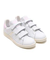 adidas/adidas Originals STAN SMITH CF  Running White/Running White/Aero Pink/501461428