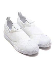 adidas/adidas Originals SUPERSTAR SLIPON W  Running White/Running White/Core Black/501461458