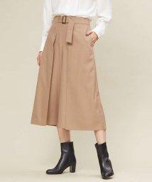 qualite/ベルト付きスカーチョパンツ/501462310