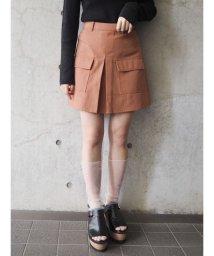 MURUA/ダブルポケットミニスカート/501462631