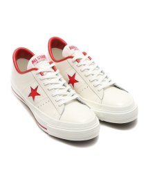 CONVERSE/CONVERSE ONE STAR J  ホワイト/レッド/501463078